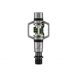 PEDALES CRANKBROTHERS EGG BEATER 2 PLATA Y VERDE