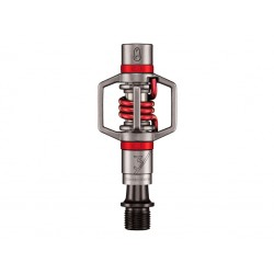 PEDALES CRANKBROTHERS EGG BEATER 3 PLATA Y ROJO