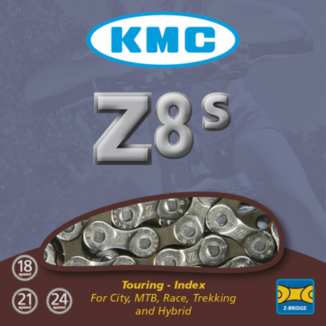 CADENA KMC HL710 MEDIA MALLA 104L AZUL