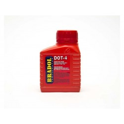LIQUIDO DE FRENOS SINTETICO DOT4 250ML.