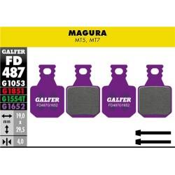 PASTILLAS DE FRENO DE DISCO E-BIKE GALFER MAGURA MT5-MT7